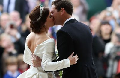 <strong>PRINCE EUGENIE AND JACK BROOKSHANK SAY 'I DO'</strong>
