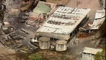 Clifton Creek Primary in Gippsland has been destroyed by bushfire.