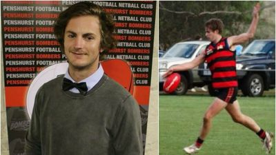 Footy player saved by mates after heart stops in training