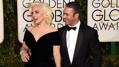 Lady Gaga and actor Taylor Kinney. (Getty)