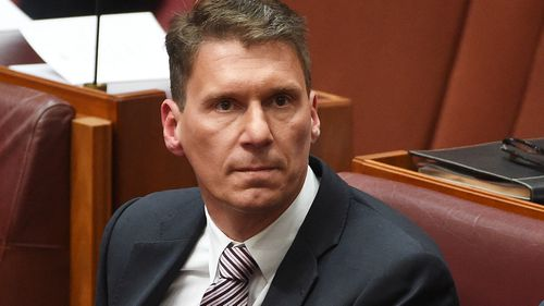 Senator Cory Bernardi last month warned party members not to ignore the lessons of political outsider Donald Trump's victory in the US election. (AAP)