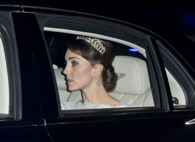 Queen Mary's Lover's Knot tiara, December, 2015