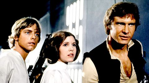 George Lucas has already written the live-action Star Wars TV show