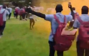 Marcellin College students 'breach' COVID-19 restrictions on muck-up day