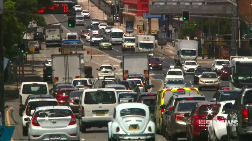 While Sydney's Parramatta Road sees daily congestion, it is understood the construction underneath is close to finishing.