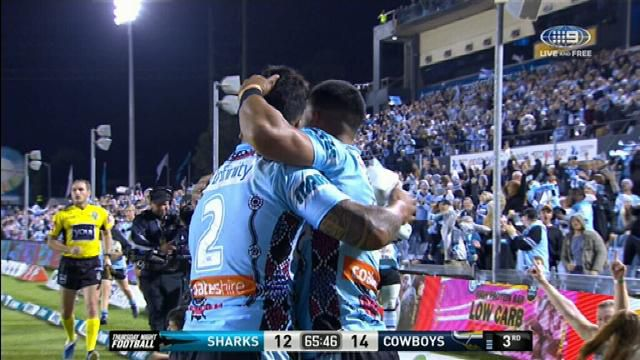 Cronulla hit the lead