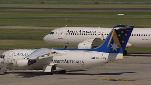 The Ansett Museum Western Victoria keeps the airline alive. Picture: 9NEWS
