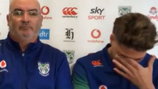Reece Walsh breaks down after apologising for his actions that led to him being arrested on the Gold Coast.