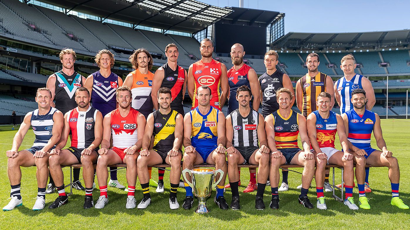 All 18 AFL captains