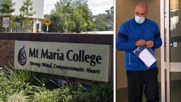 Lucas Gill, 41, a former physical education and substitute teacher at Mount Maria College at Mitchelton, was arrested by detectives from Taskforce Argos yesterday after a search of his Chermside house.