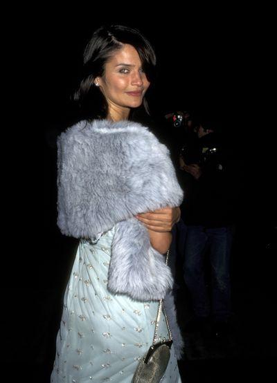 Helena Christensen at the1996 CFDA Fashion Awards.