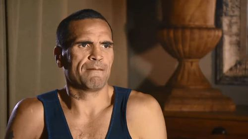 Mundine has made a number of controversial anti-gay comments previously. (Network 10)