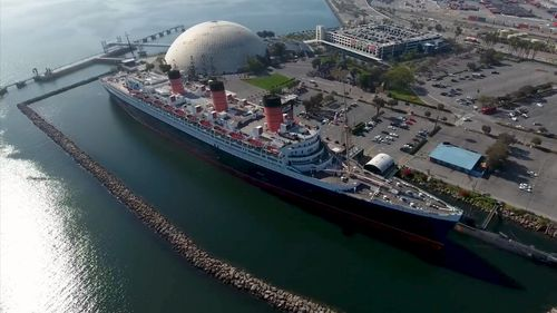 The other must-see attraction: the glorious Queen Mary. (9NEWS)
