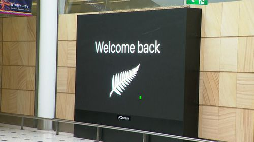 New Zealand travel bubble airport arrivals Australia