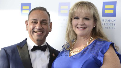 Gil Cisneros was laid off a week before the won the lottery. He is now a member of Congress.