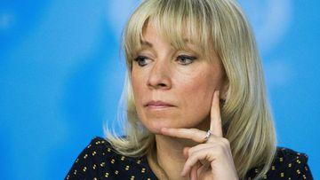 Russian Foreign Ministry spokesperson Maria Zakharova. (AP)