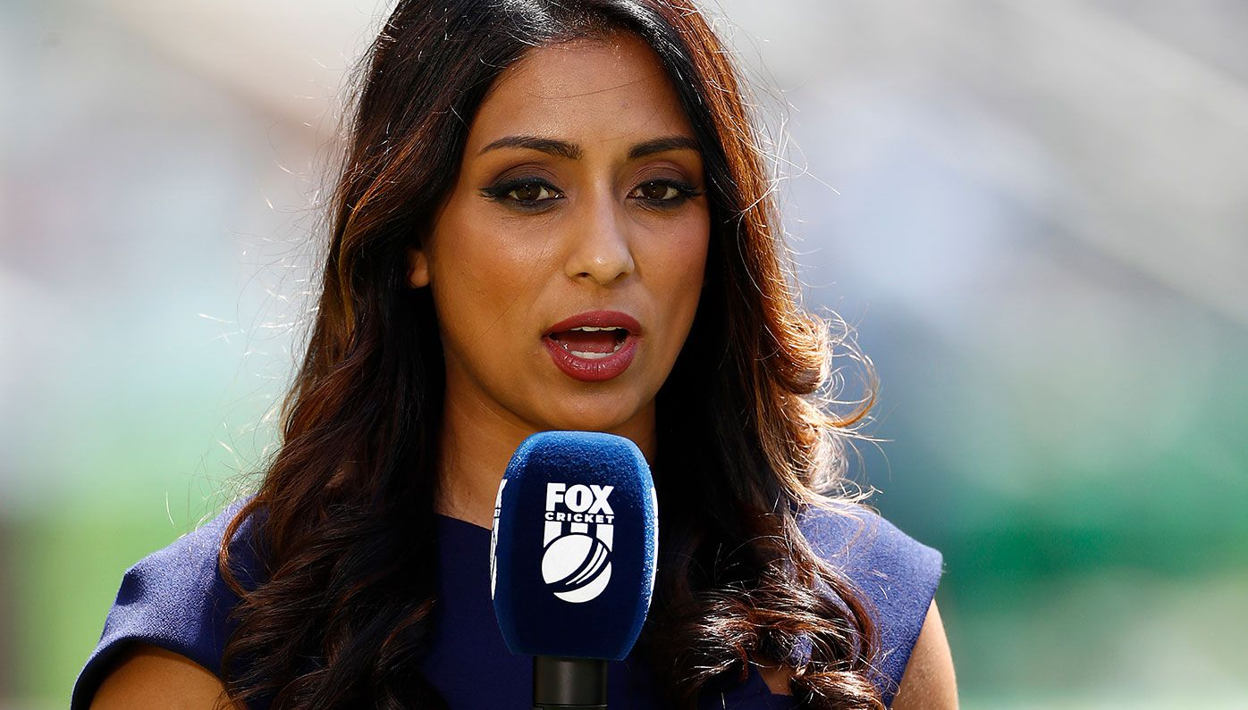 Cricket commentator Isa Guha.