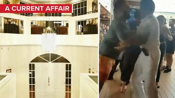 Inside the 'cruise brawl' family's lavish home