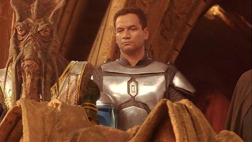 Temuera Morris played Jango Fett and the clones in Star Wars Episode II: Attack of The Clones back in 2002