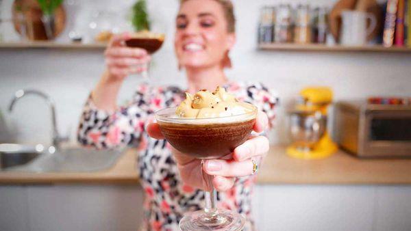 Jane de Graaff toasts a Quarantine Friday with a dalgona espresso qauarantini