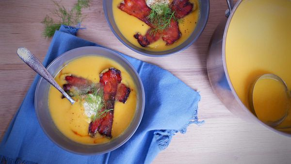 9Honey Quarantine Kitchen: A perfect twist on classic pumpkin soup