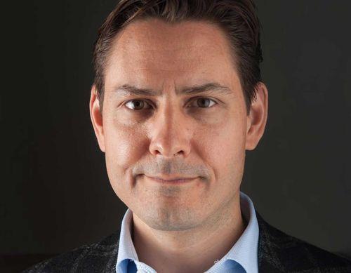 Canadian former diplomat Michael Kovrig.
