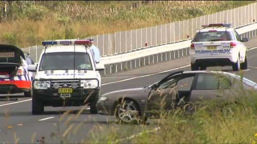 Police officer taken to hospital after being hit by a police car in NSW