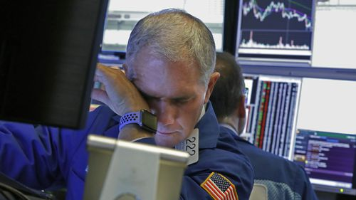 Wall Street suffered its biggest drop since the global financial crisis.