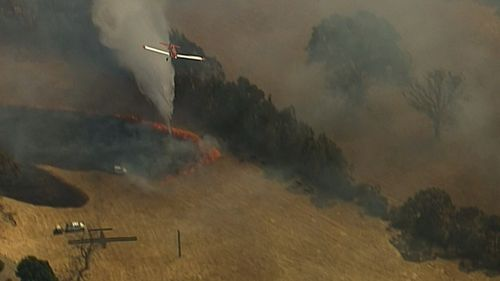 About 25,000 hectares have already been scorched in the blaze.