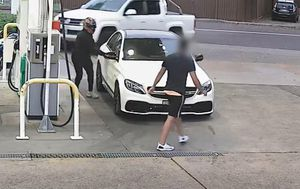 Teen filling up at Sydney servo carjacked at knifepoint