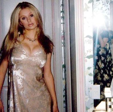 Paris Hilton, throwback photo, Instagram