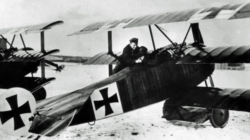 The Red Baron's Fokker DR-1 triplane was a lethal killing machine. (AP).