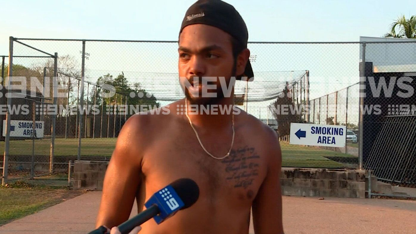 Willie Rioli is training again
