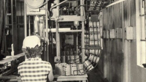 The first Milo production plan was set up in Smithtown and it's still there today. (9NEWS)