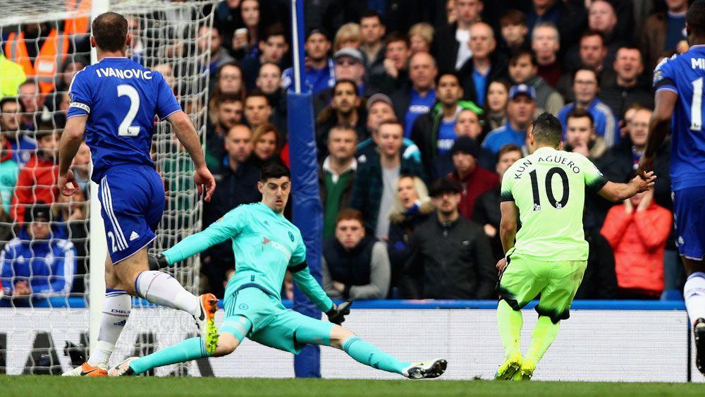 Aguero hat-trick sinks Chelsea
