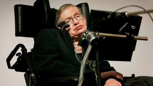 Hawking died in March after decades of living with motor neuron disease. Picture: Getty
