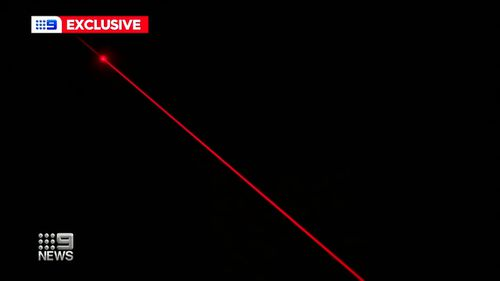 Australian scientists are hailing a world-first laser designed to shunt potentially deadly space junk out of orbit, fired from a Canberra hilltop.