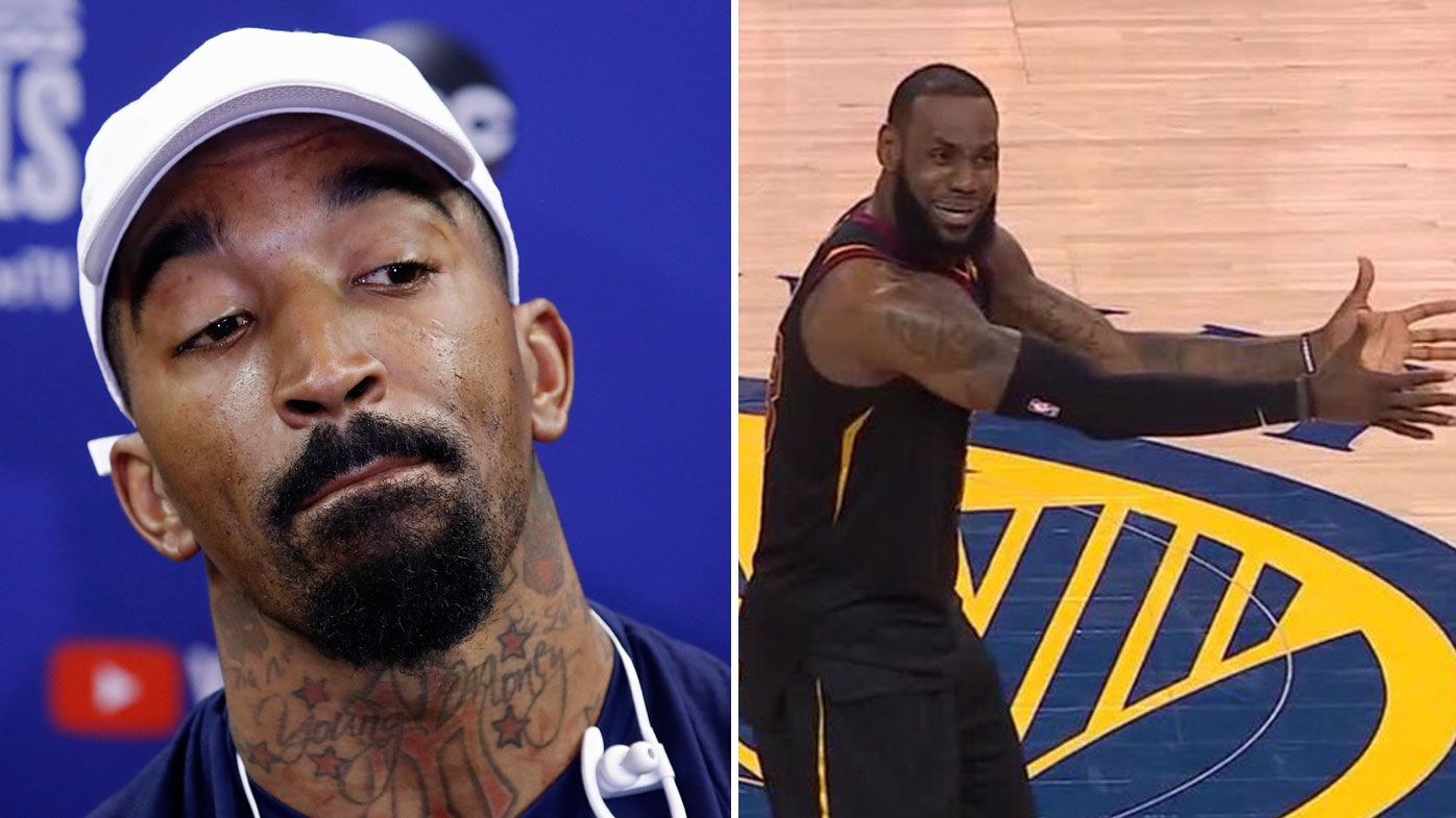 Cleveland Cavaliers' J.R. Smith owns up to costly NBA Finals mistake, explains pressure of playing with LeBron James