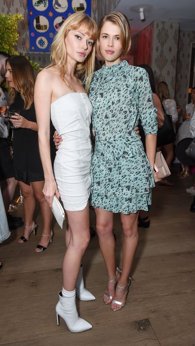 Annabella Barber and Victoria Lee at the Australian Fashion Foundation 2017 summer party at The Whitby Hotel, New York.