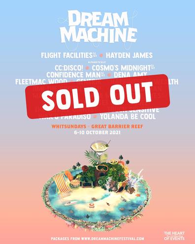 Dream Machine festival sold out