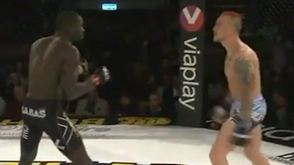 MMA: Fighter gets knocked out taunting rival
