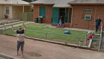 """<p>A South Australian woman who flashed her breasts at a Google Street View car has been called """"feral"""" and """"disgusting filth"""".</p> <p>Karen Davis, 38, of Port Pirie, was outside her home about two months ago when she spotted the Street View car and immediately seized the opportunity to tick an item off her bucket list, the Adelaide Advertiser reports. </p> <p>Ms Davis chased the car into a nearby street and flashed her breasts as it drove past with its many cameras.</p> <p>""""I flashed as he went past and then he came back and did another one, I'm assuming to make sure he got the shot,"""" she told the newspaper.</p> <p>A friend of Ms Davis' previously confirmed that she had seen her image on Street View, albeit with her breasts blurred – the pictures have been published by news media around the world.</p> <p>Ms Davis said since being identified she had been attacked online.</p> <p>""""I'm getting 'bad mum', 'feral', 'disgusting filth' — I thought that was quite funny,"""" she said.</p> <p>""""People are saying I'm disgusting and filthy for that, but I'm an honest person.""""</p> <p>Ms Davis said she hopes Google leave her image online.</p> <p>""""I used to be ashamed of my bust size and now I've accepted it and I embrace it. It's a set of boobs and they show them on TV, you know what I mean?""""</p>"""