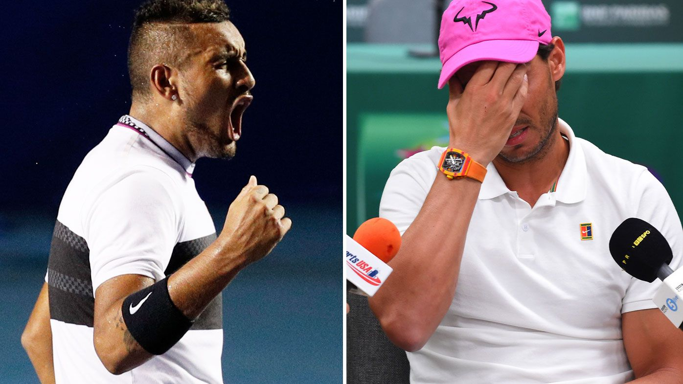 'I meant what I said': Rafael Nadal clarifies controversial Nick Kyrgios comments following Acapulco exit