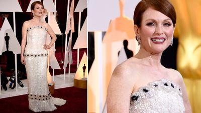 Oscar-hopeful actress Julieanne Moore. (Getty)
