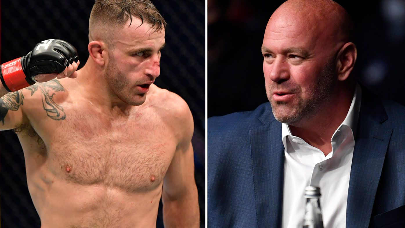 Alex Volkanovski hits back at Dana White.