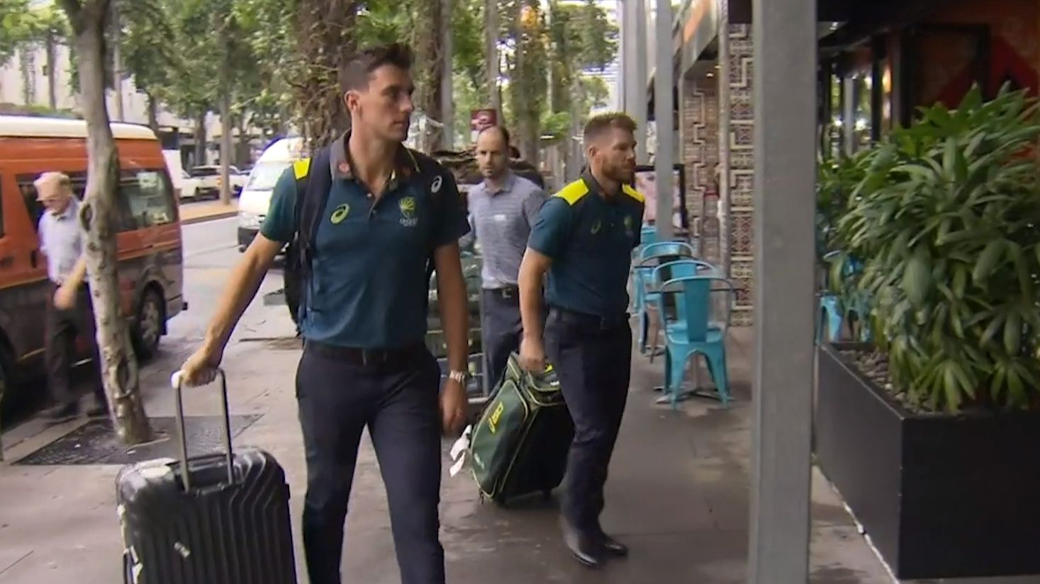 Warner, Smith arrive for World Cup camp