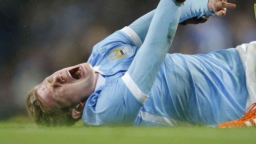 Man City's De Bruyne out for 10 weeks