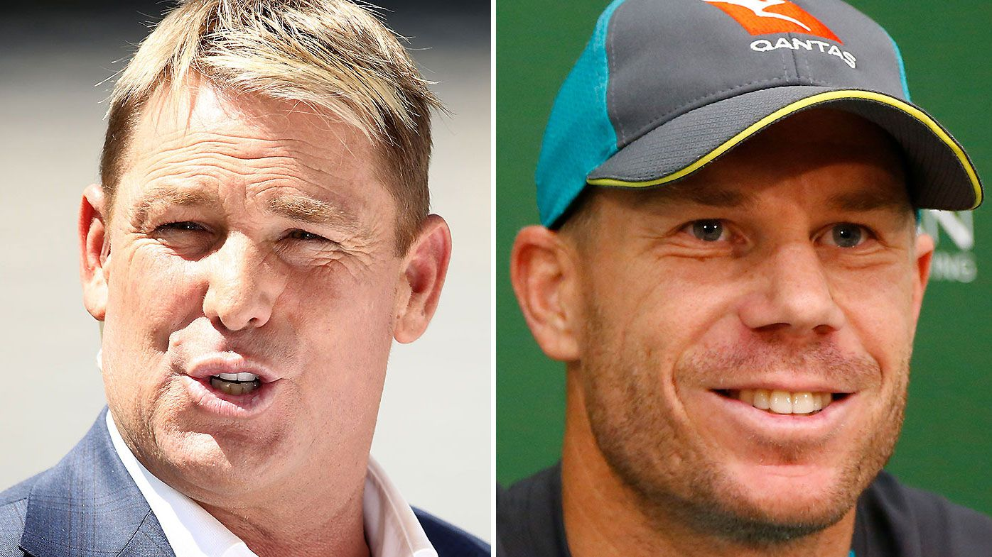 Shane Warne backing David Warner to be World Cup's best player
