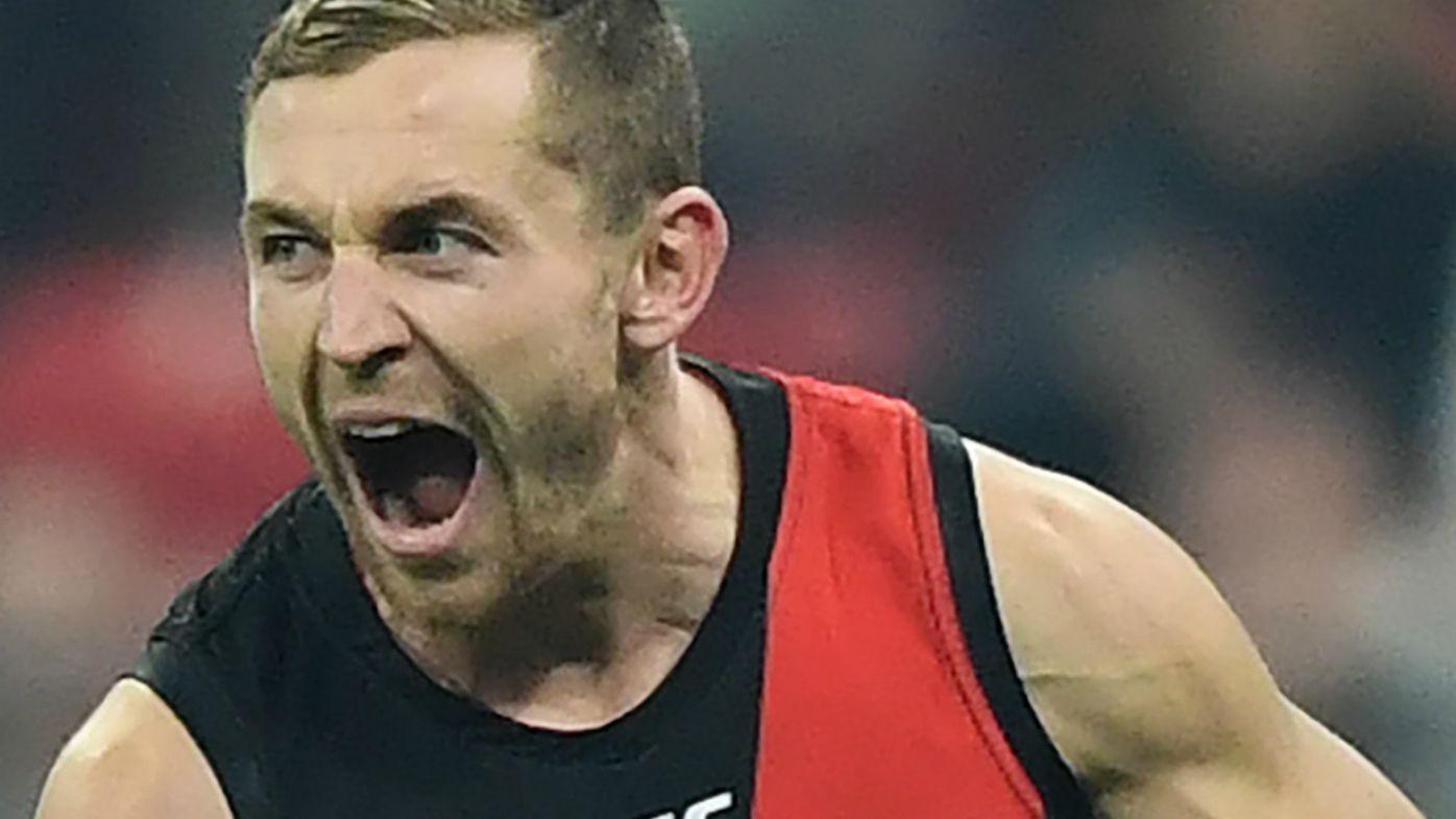 Devon Smith celebrates