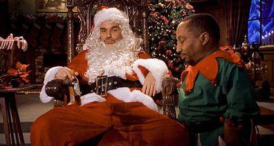 Christmas advent movies calendar, Bad Santa, Billy Bob Thornton